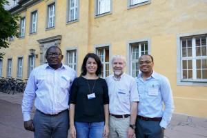Ayuba Seidu, Gulcan Onel, Richard Barichello, and Johanes Agbahey